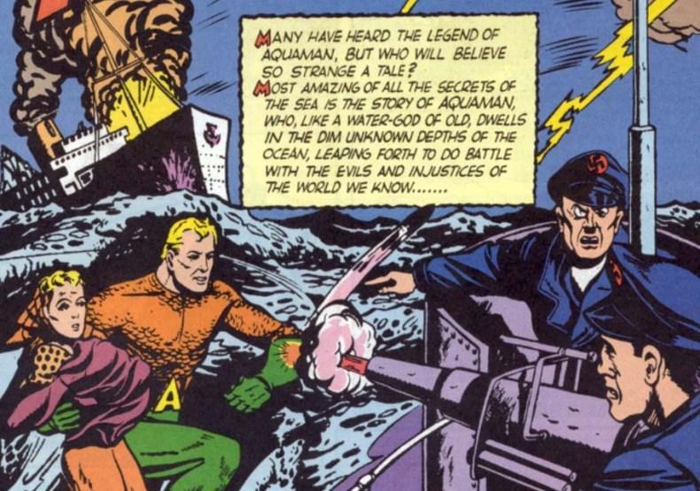 Aquaman 1st apparition