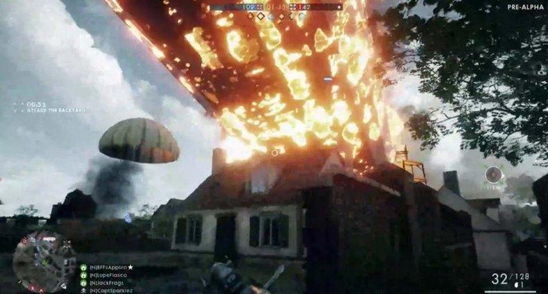 Battlefield 1 zeppelin porrazo