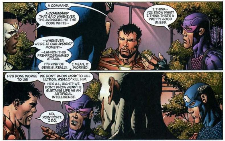 Avengers 501 Disassembled