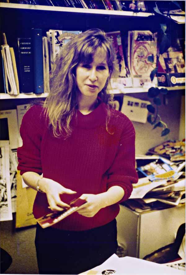Karen Berger 80s