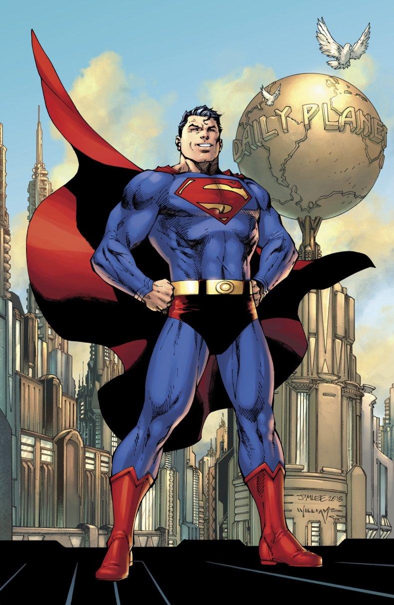 Jim Lee Superman Action Comics 1000