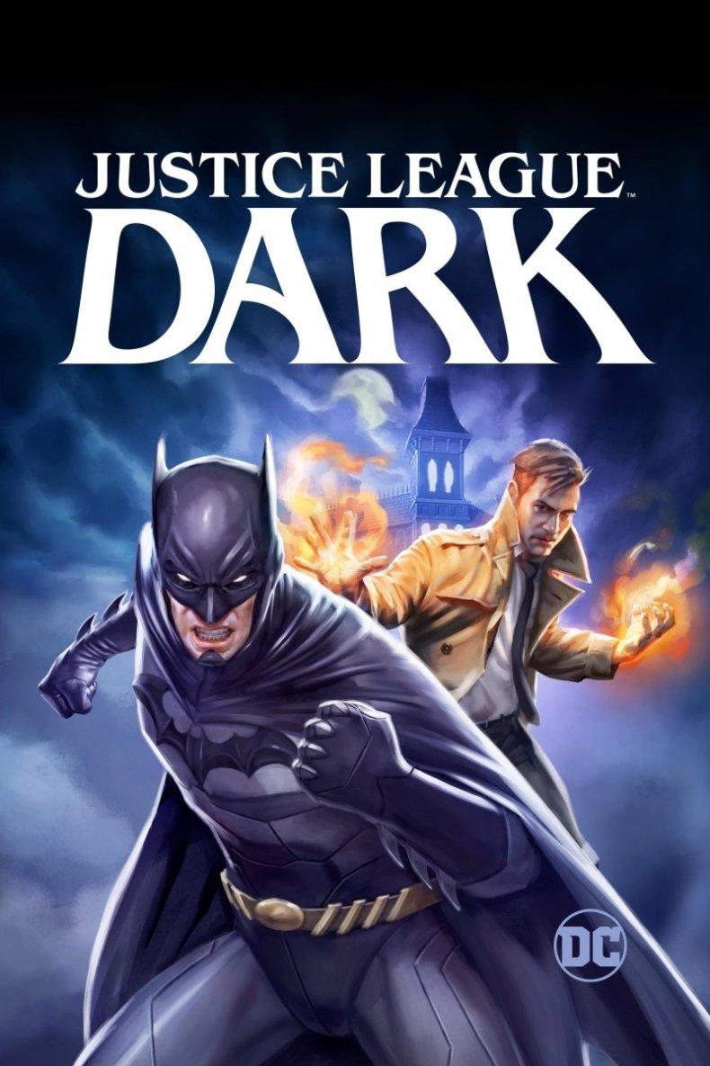 Justice League Dark 2017 poster - Cronología del Universo DC de animación