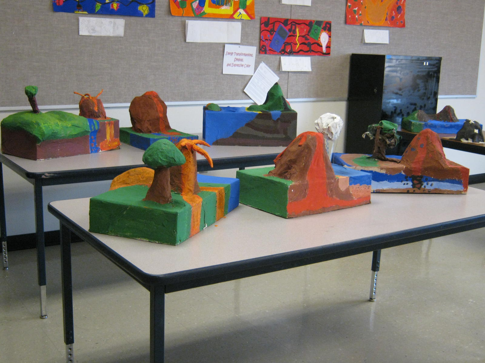 Rock Cycle Landscape Sculpture From Brain To Brush