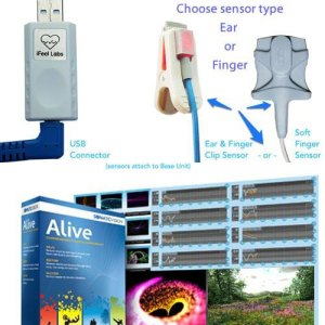 Alive Pioneer with iFeel USB HRV Sensor