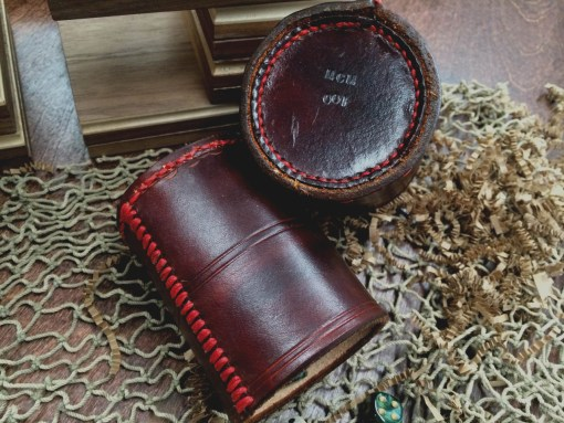 Hand-Crafted/Stitched Leather Dice Cup (LE Numbered)