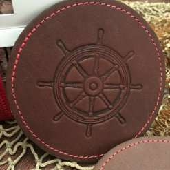 Captains Wheel Coasters (set of 2)