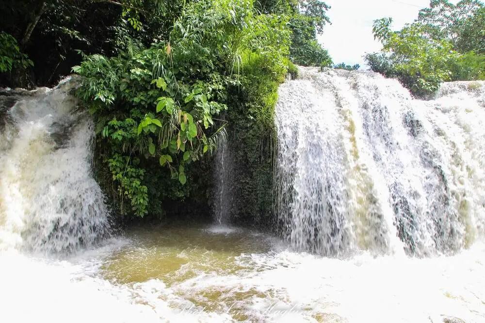 Pangas waterfall