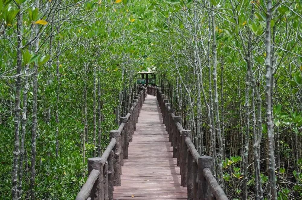 Mu Ko Chumphon National Park is off the beaten track in Thailand