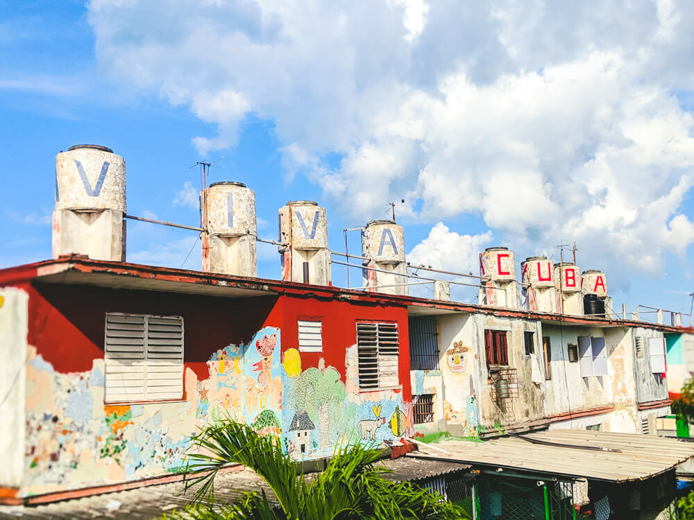 Visit Fusterlandia is on of many unique things to do in Cuba