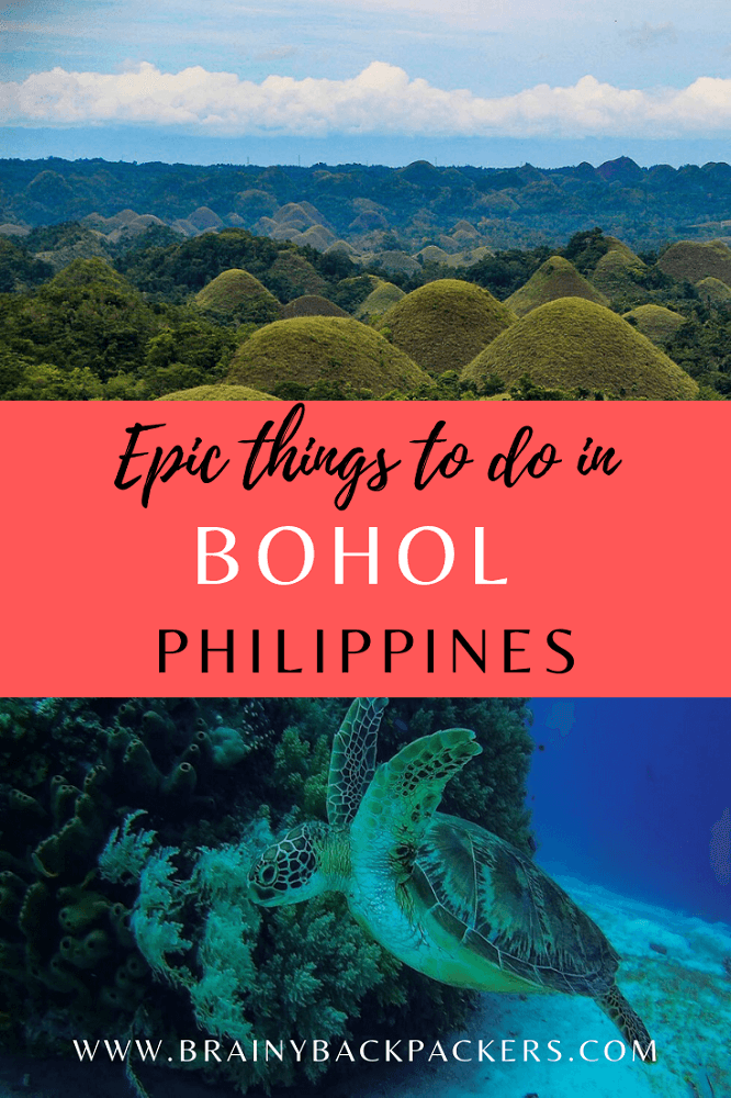 Traveltips and things to do in Bohol island in the Philippines