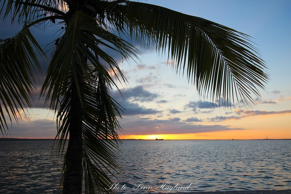Sunset at Punta Gorda should not be missed with 10 days in Cuba