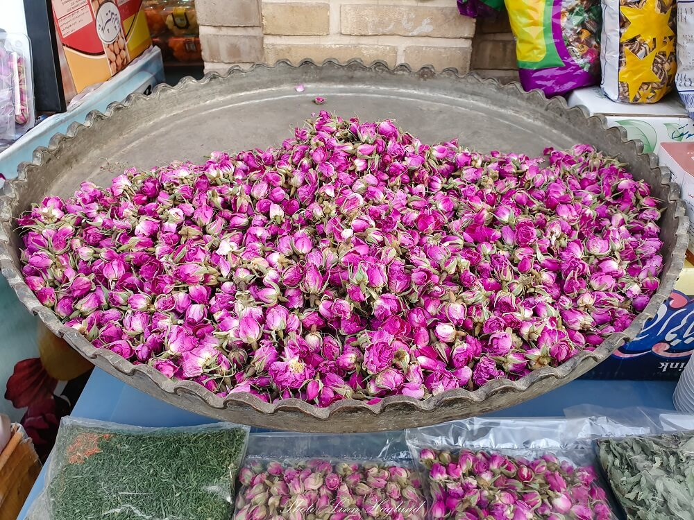 Kashan is famous for its natural rose water