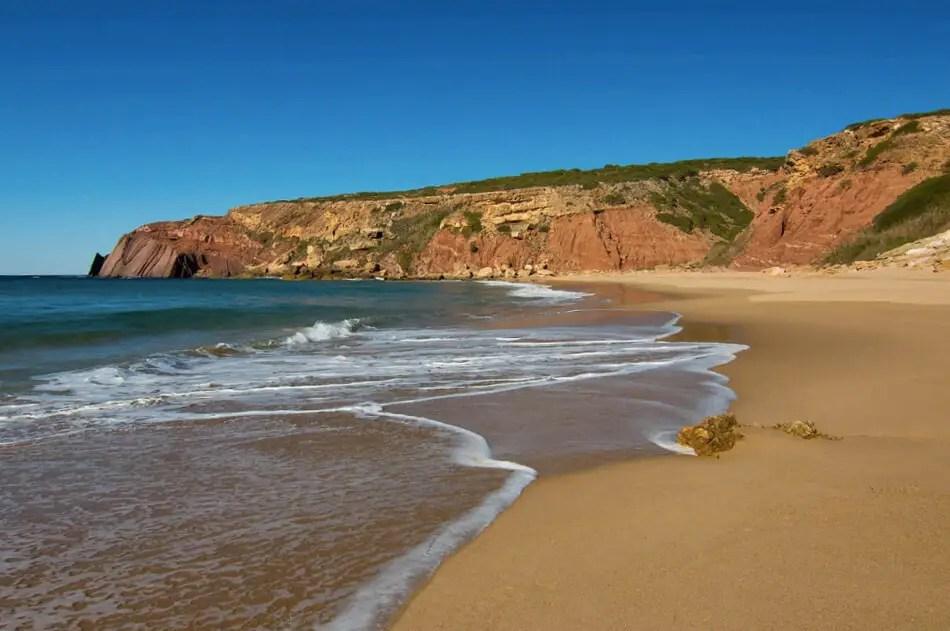 Praia do Telheiro Hikes in Portugal