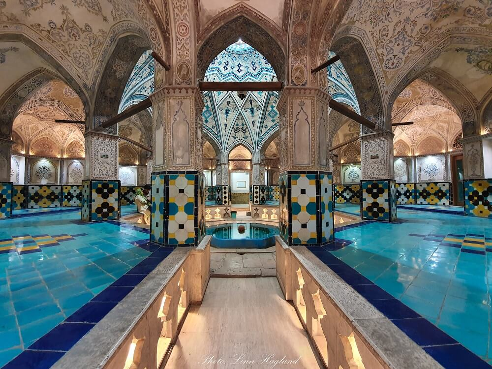 Visiting Sultan Amir Ahmad Bathhouse is one of the best things to do in Kashan Iran