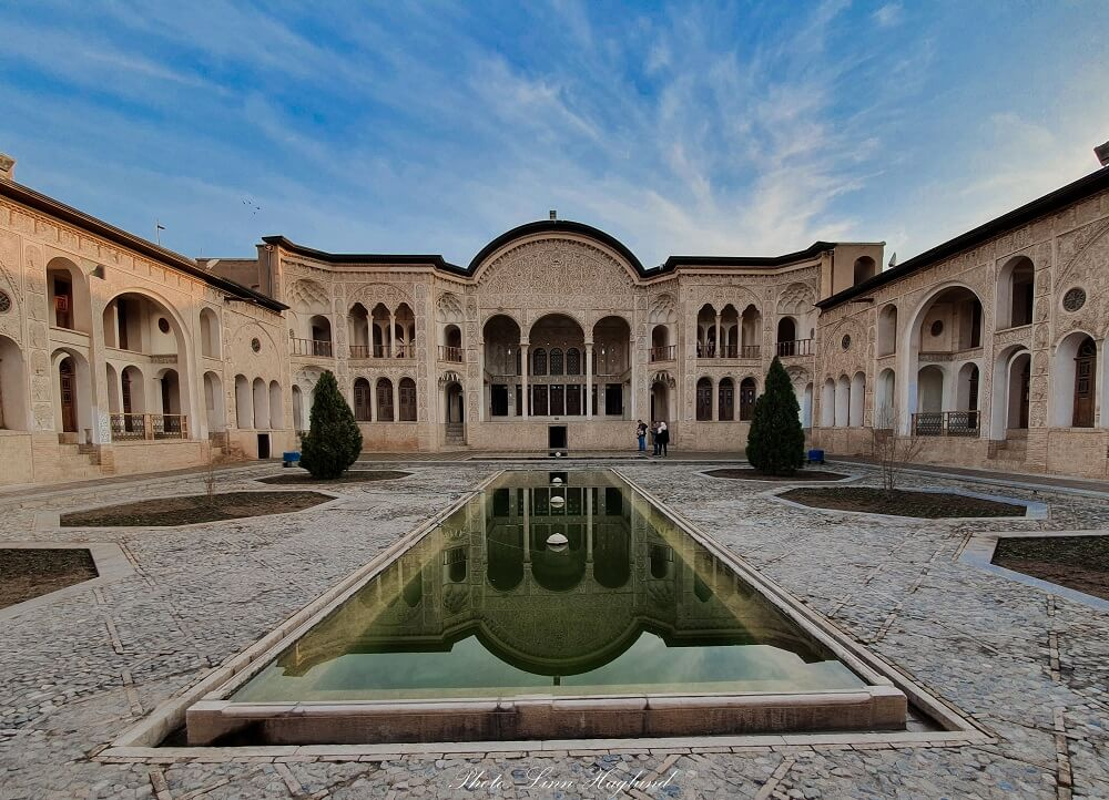 Visiting Tabatabaei House is one of the must things to do in Kashan Iran