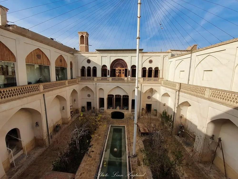 Taj Historical House Kashan Iran