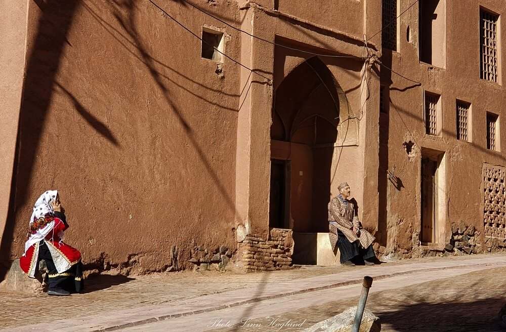 The locals of Abyaneh