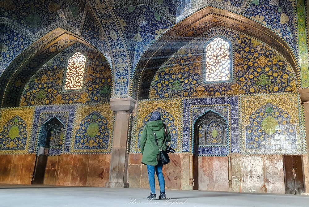 Shah Mosque in Isfahan is one of the most beautiful mosques in Iran