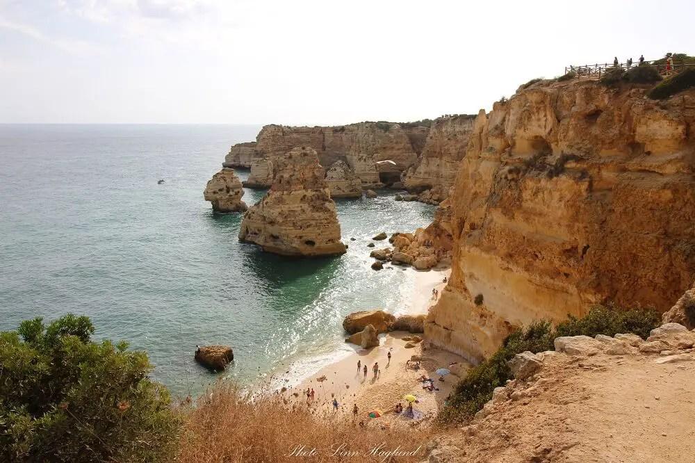 What to see in Lagos - Marinha Beach