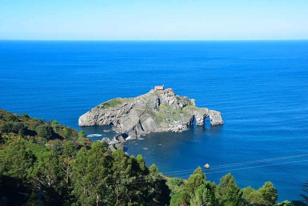 San Juan de Gaztelugatxe is an off the beaten track Spain destination