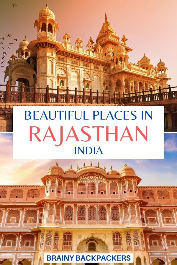 Are you looking for travel inspiration to India? These incredibly beauiful places in Rajasthan will definitely fuel your wanderlust! #responsibletourism #rajatshan #india #travel #travelinspiration #armchairtravel #brainybackpackers #indiatravel #asia #southasia #traveltips