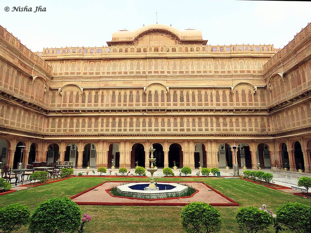 Laxmi Niwas palace is one of many Rajasthan beautiful places