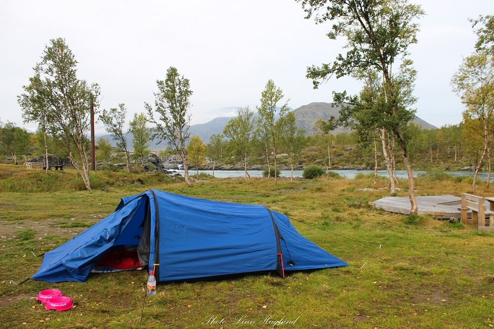 This is a great sustainable tent by Bergans loved by any eco friendly camper