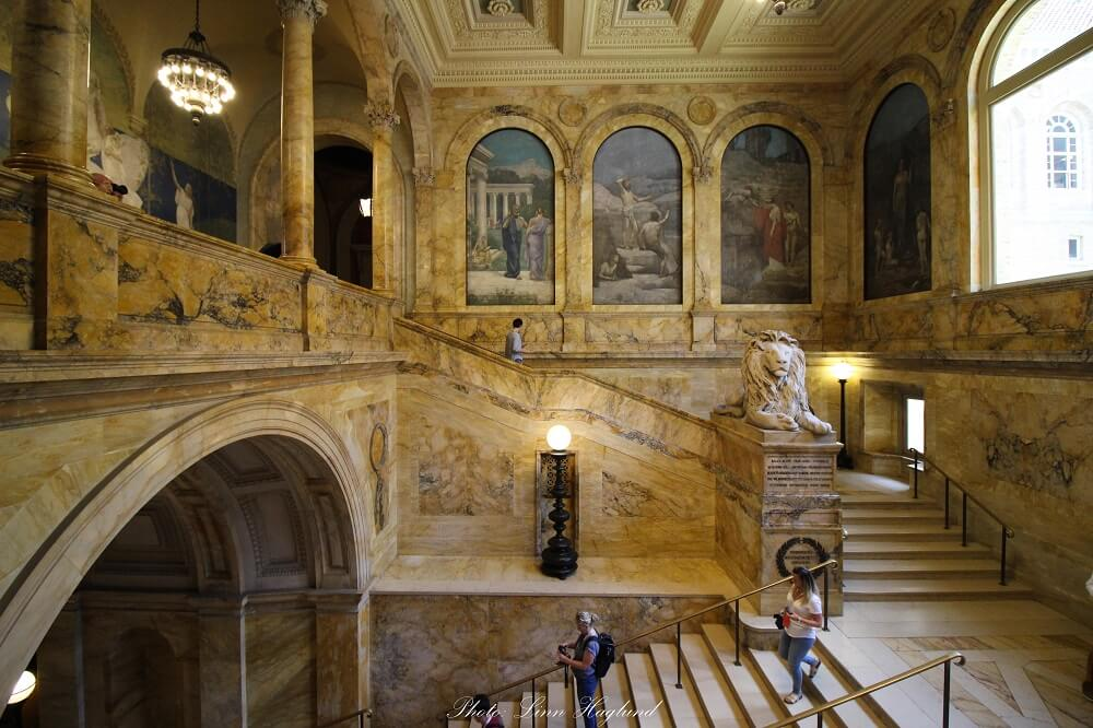Visiting the Boston Public Library on Copley Square should be on your Boston itinerary