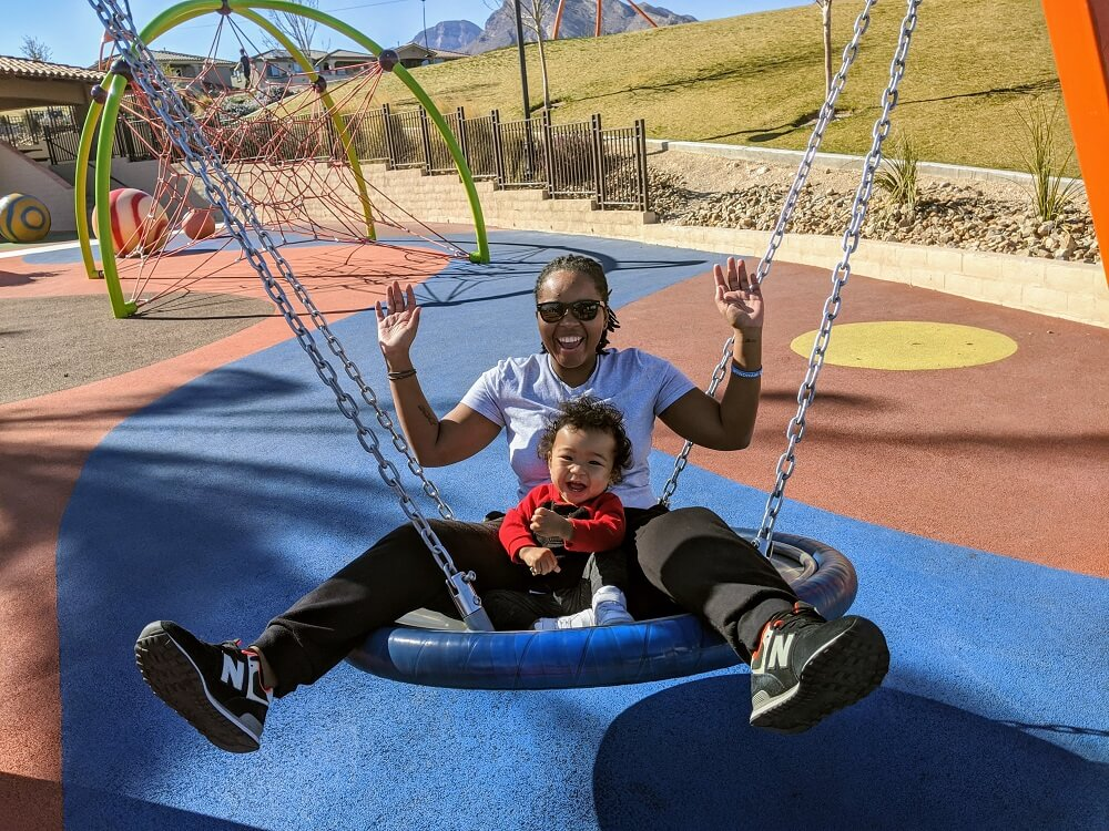 An interview with Coritta Lewis - Fox Hill park in Las Vegas