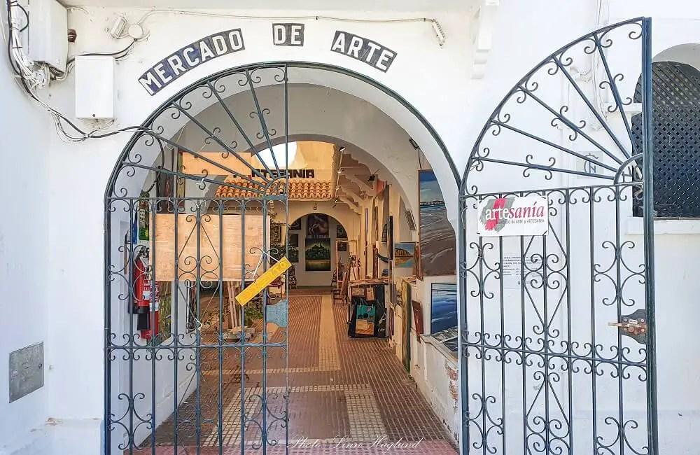 Mercado de Arte in Conil de la Frontera