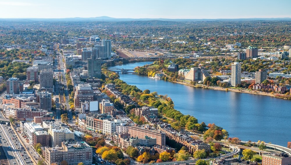 One of the top things to do in Boston in one day is to get the mesmerizing city views
