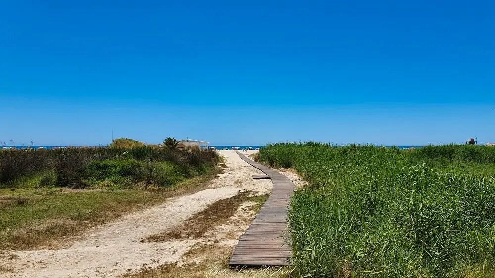 Path to Conil de la Frontera beach