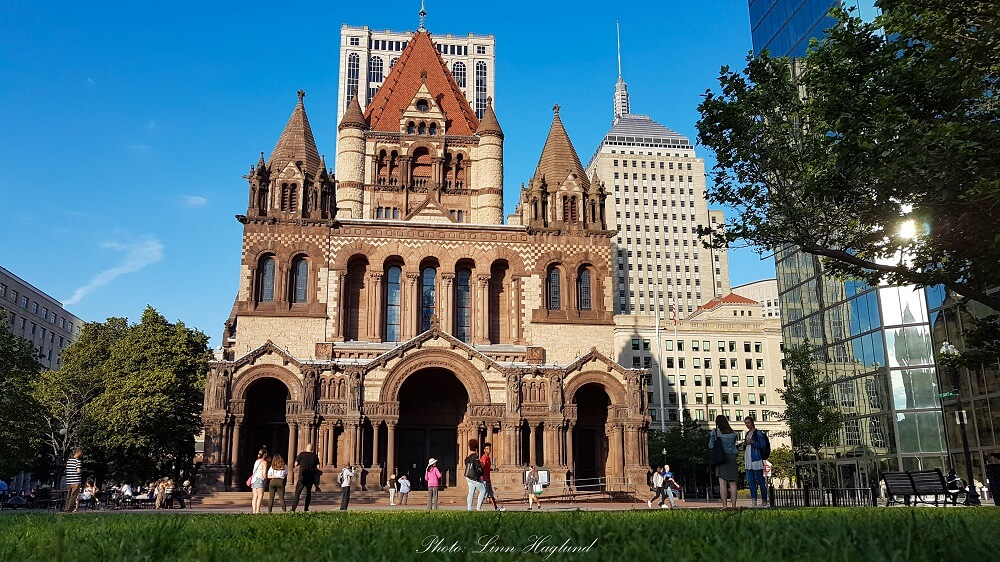 Your Boston itinerary should include a visit to Trinity church