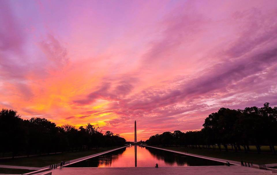 Washington DC is the top long weekend trips from Boston