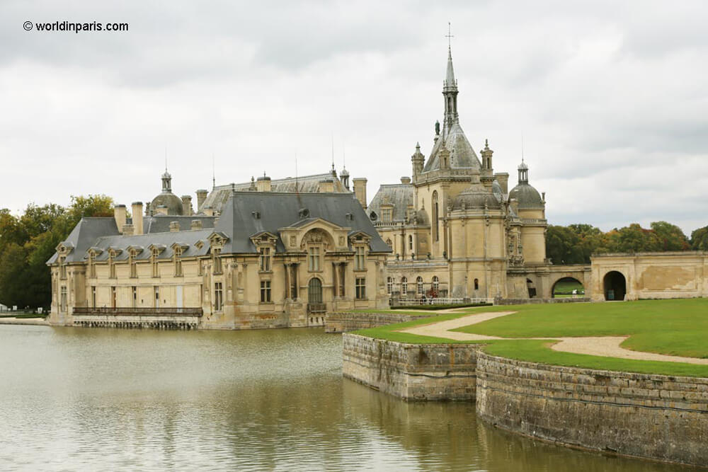 Chantilly is among other train rides from Paris