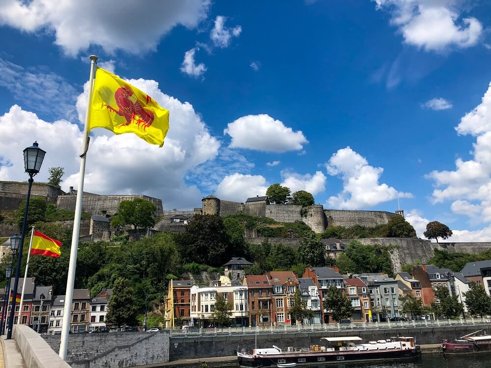 Namur is one of the best day trips from Paris by train