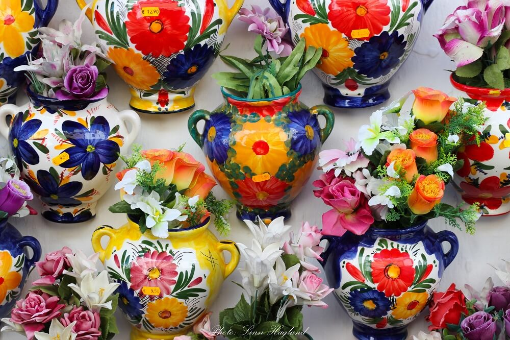 Things to do in Mijas Spain include shopping in local shops to support local economy