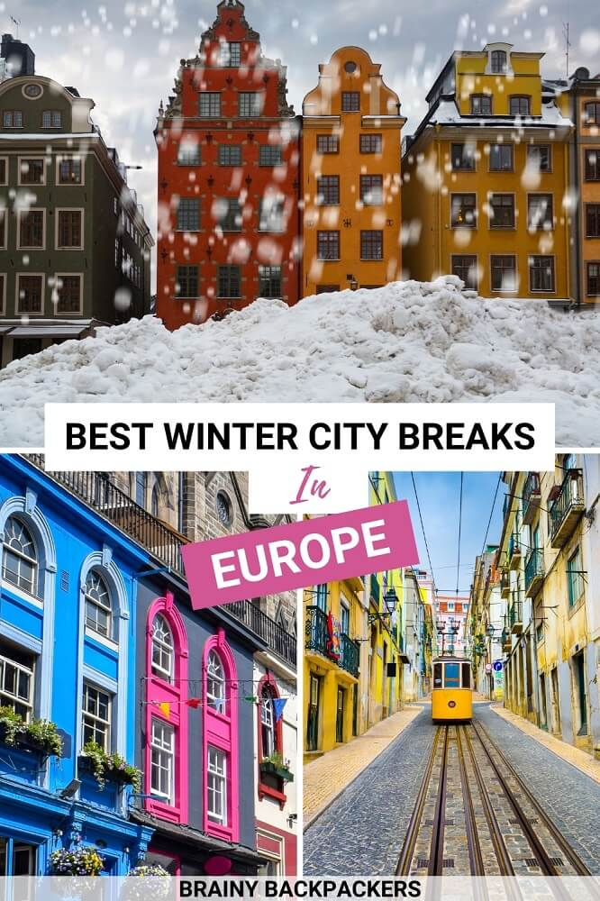 Are you looking for the perfect European winter city breaks this winter? Here are my absolute favorite winter city breaks in Europe. Whether you like to get winter sun, explore Christmas markets, or go skiing, this post got you covered.