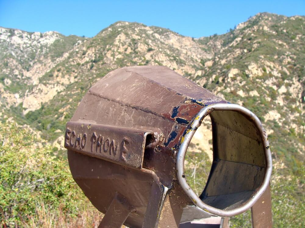 Echo Mountain trail is one of the best places to hike in southern California