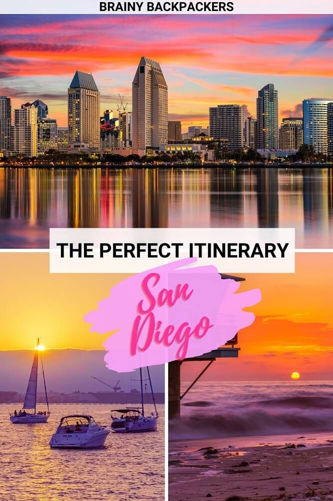 When you go to San Diego things to do are endless and it can be hard to decide what to do. In this San Diego Itinerary you get all the best tips to spend one day in San Diego from a local. #cityguide #unitedstates #responsibletourism #brainybackpackers
