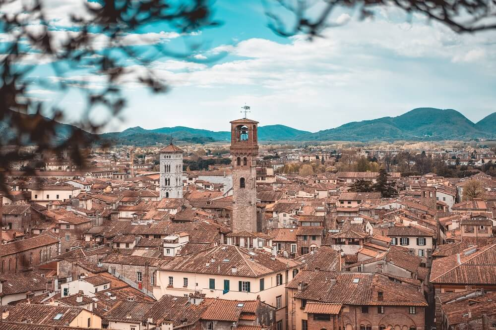 Climb Lucca clock tower on a Lucca day trip is a must