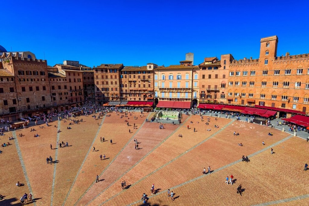 One day in Siena - Piazza del Campo
