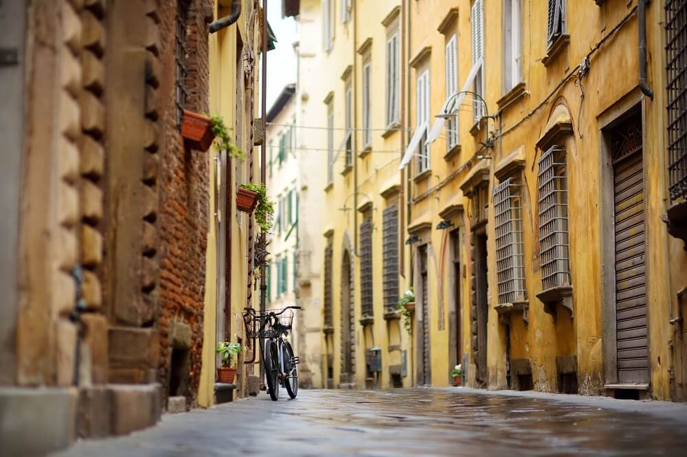When exploring Lucca in one day, make time to get lost in the streets