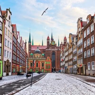 Gdansk in winter