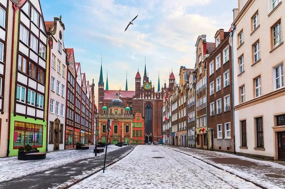 Gdansk winter
