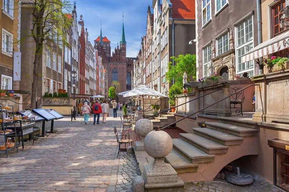Mariacki street