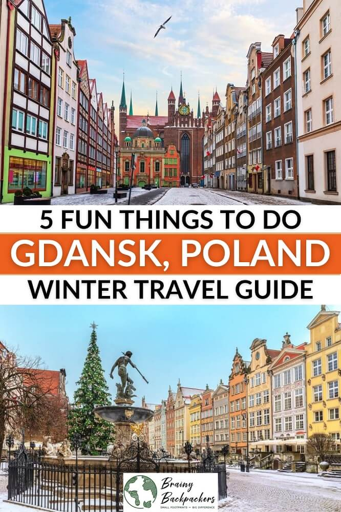 Planning a trip to Gdansk in winter and wonder what to do? I've got you covered with this Gdansk winter guide. #poland #travel