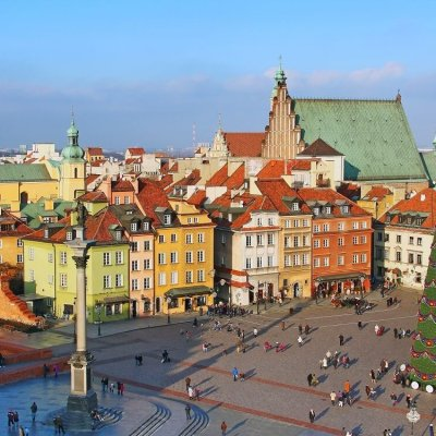 Warsaw is one of the best places in Poland in winter