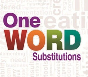 ONE WORD SUBSTITUTION PART-2