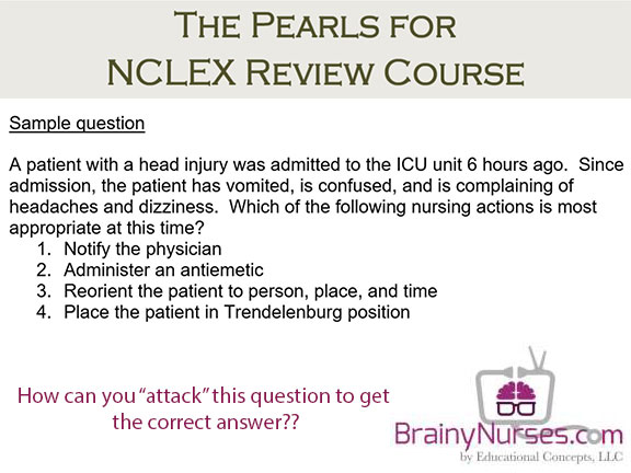 NCLEX Preparation Module only from BrainyNurses.com!